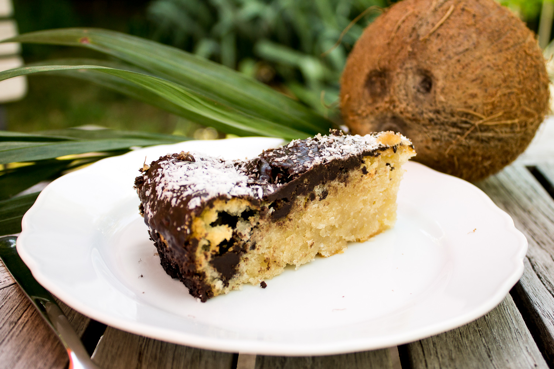 Kokos Kuchen Bounty Kuchen Stadt Land Food